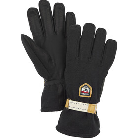 Hestra Windstopper Tour 5-sormen Hanskat, black